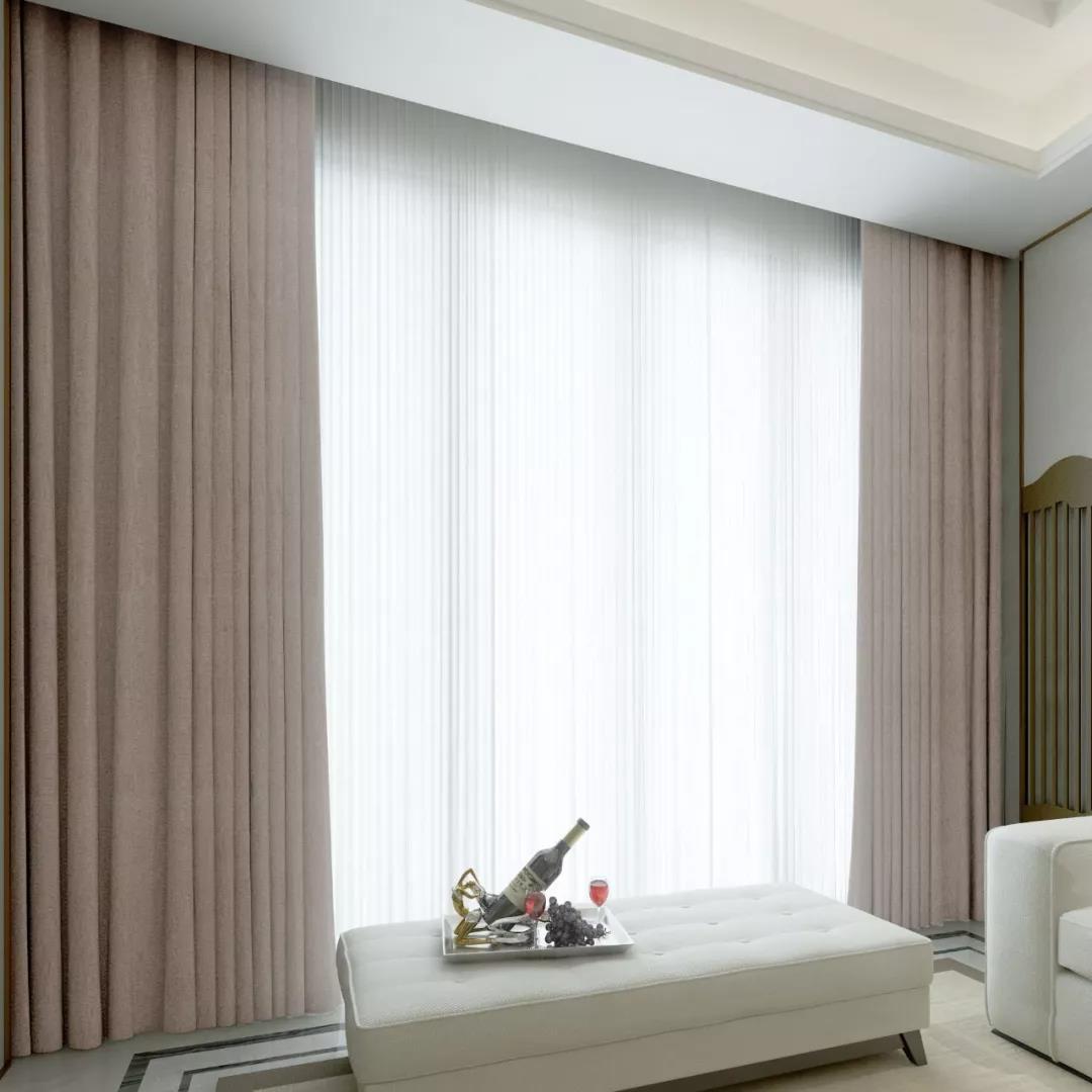 素色窗帘的选购方法窗帘适用于的场所!